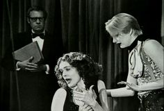 Rocky horror show 1973 Patricia Quinn, little Nell Campbell and Johnathan Adams