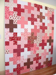 Yesterday I finished cutting the squares for my Valentine's Plus quilt, cleared my entire design wall and started laying out the squares. Th...