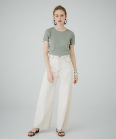 Fashion Pants, New Fashion, Womens Fashion, Drawing Clothes, Fashion Images, Dress Me Up, Girly Girl, Simple Style, Spring Summer Fashion