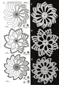 World crochet: Motive 42 Irish Crochet Patterns, Crochet Motifs, Crochet Diagram, Freeform Crochet, Crochet Squares, Thread Crochet, Crochet Doilies, Crochet Flowers, Crochet Lace