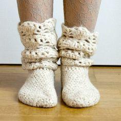Tread Softly Socks  - via @Craftsy