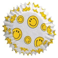 Wilton Smiley Face Baking Cups by Wilton, Love Smiley, Happy Smiley Face, Yellow Smiley Face, Smiley Faces, Smiley Emoji, Happy Faces, Smileys, 1st Boy Birthday, Birthday Parties