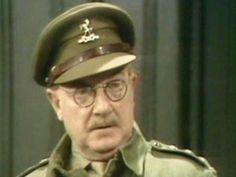 Dad's Army, Home Guard, Comedy Actors, Lowes, World War, Tv Series, Captain Hat, Dads, Fathers