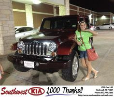 https://flic.kr/p/FVBnPg | #HappyBirthday to Sidnee from Kathy Parks at Southwest KIA Rockwall! | deliverymaxx.com/DealerReviews.aspx?DealerCode=TYEE