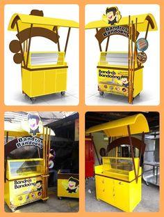 jpg Source by Kiosk Design, Cafe Design, Booth Design, Food Court Design, Food Truck Design, Food Counter, Craft Show Booths, Food Kiosk, Drink Cart