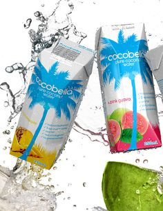 Cocobello Coconut Flavored Water Packaging