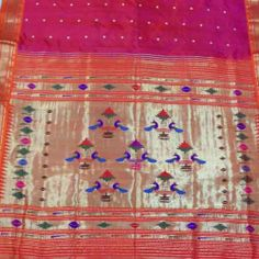 So take the famous peacock motif out of the saree an place it on the blouse, smaller versions of it, like a blue/ purple or paroot green ones with a pistacio coloured chanderi saree with similar motifs on its borders!