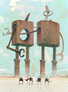 The Art Of Animation, Ken Wong