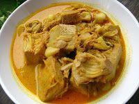 Gulai nangka padang (Jackfruit Curry)