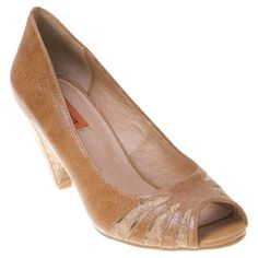 Miz Mooz Women's Wave Open-Toe Pump Shoe | Infinity Shoes