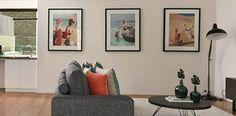 Die lange weiße Wand im Flur wirkt kahl und steril wie ein Gang im Krankenhaus?… Gallery Wall, Decor, Wall, Frame, Home Decor