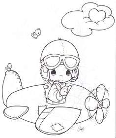 Here are the Wonderful Drawings Of Precious Moments Colouring Pages. This post about Wonderful Drawings Of Precious Moments Colouring Pages was posted . Colouring Pics, Coloring Pages To Print, Free Printable Coloring Pages, Coloring Book Pages, Coloring Pages For Kids, Coloring Sheets, Kids Coloring, Precious Moments Coloring Pages, Cartoon Airplane