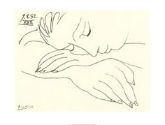 picasso drawings | visual recording blog: Pablo Picasso line drawings.
