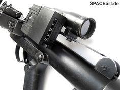 Star Wars: Stormtrooper E-11 Blaster - Ultimate Edition, Fertig-Modell ... http://spaceart.de/produkte/sw084.php