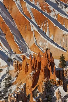 Winter Castles. Bryce Canyon National Park, Utah; photo by Mike Reyfman