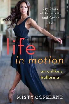 """A MOMENT WITH MISTY COPELAND ..  """"I didn't think it was going to happen this soon,"""" Misty Copeland tells BAZAAR of her recently published memoir, Life In Motion. But, at 31, the legendary ballerina has the diary pages to warrant it. As American Ballet Theatre's 3rd black, female soloist, & its first to perform the monumental title role of Stravinsky's Firebird, 4/17/14"""