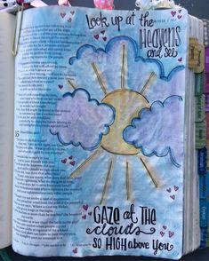 #biblejournalingcommunity #documentedfaith #illustratedfaith #biblejournaling #icolorinmybible #kristiematthewsdesigns #craftedword #biblejournalinglife