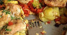 Fit - Kurczak zapiekany z warzywami