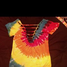 Cut v back t shirt! jacquelynnl - check out our blog -
