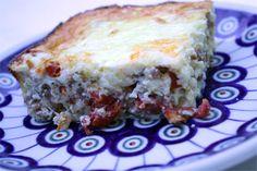 Sausage Sun Dried Tomato Mozzarella Egg Casserole
