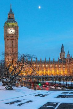 Big Ben -- London, UK.