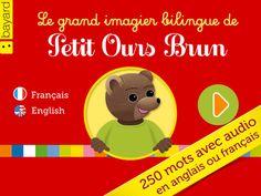 Le grand imagier bilingue de Petit Ours Brun : tout le vocabulaire de la maternelle. par Bayard Presse SA