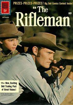 """""""the rifleman"""" First episode: September 30, 1958 Final episode: April 8, 1963 Theme song: The Rifleman Theme Song"""