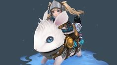 Finished up Alice's mount Bun Bun and their kitty XD<br><br>for final shots and maps: https://www.artstation.com/artwork/OD9vK  <br>for Alice's animation: https://sketchfab.com/models/25d63e553d17482ba1c30e25ab4a61fa<br><br>for Alice's final shots, maps, and texturing process: https://www.artstation.com/artwork/9yKVW