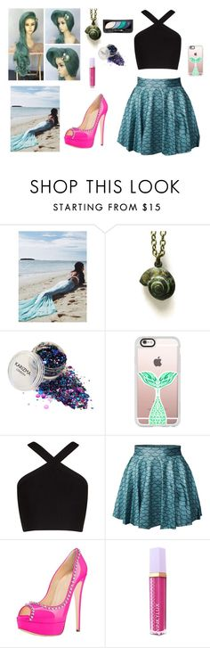 """""""Halloween #4"""" by autumn-geist on Polyvore featuring Casetify, BCBGMAXAZRIA and Winky Lux"""