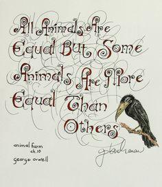 DESIDERATUM: pen and ink, by Gwen Buchanan