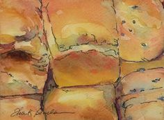 """""""A Little Bread to go with your Cheese?"""" (watercolor by Helen K. Beacham).  Sold. 