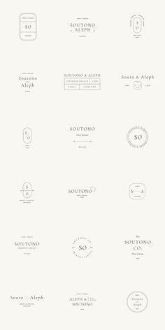 Our similar product that you might like: Naomi Logo Kit - About Soutono Logo Kit - 54 Fully Customizable Logos Soutono Logo Kit are ideal and universal logos Logo Inspiration, Brand Identity Design, Graphic Design Branding, Web Design, Typographie Logo, Logo Minimalista, Logo Simple, Minimal Logo Design, Social Media Branding