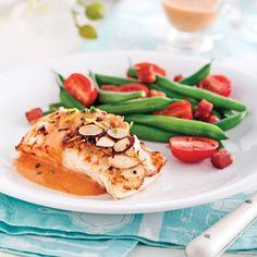 Vous aimez napper vos pâtes de sauce rosée? Voyez comme elle va à merveille avec les poissons blancs!