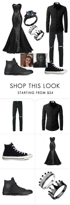 """""""The wedding"""" by dani-lehmiller on Polyvore featuring RtA and Converse"""