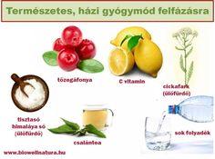 A felfázás 6 tünete és természetes, házi gyógymódja Health 2020, Vitamin C, Medical, Nutrition, Fruit, Vegetables, Food, Medicine, Essen