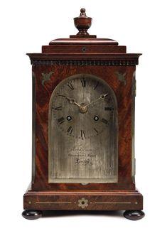 *FRODSHAM | A WILLIAM IV BRASS-INLAID MAHOGANY TABLE CLOCK, LONDON, CIRCA 1820