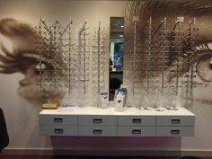 Optical Frame Displays - Rose Opticians