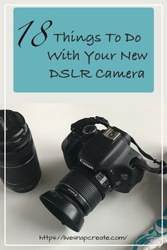 18 Things To Do With Your New DSLR Camera – Photography, Landscape photography, Photography tips Dslr Photography Tips, Photography Challenge, Photography Lessons, Photography For Beginners, Photography Tutorials, Digital Photography, Photography Courses, Photography Articles, Photography