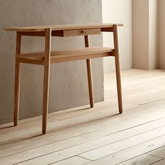 Buy Design Project by John Lewis No.022 Console Table, Oak Online at johnlewis.com
