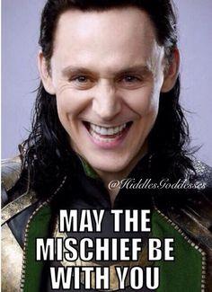 Loki's Mischief...correction...I AM Loki's Mischief! Ehehehehehehe