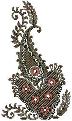 Wall Art Embroidery Design 13622