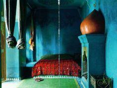 Ethnic Indian bedroom