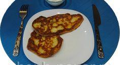 Оладьи из адыгейского сыра со сливками