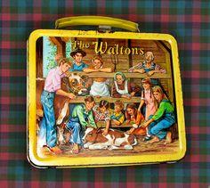 The Waltons lunch box - funny memories - Retro Lunch Boxes, Lunch Box Thermos, Cool Lunch Boxes, Metal Lunch Box, Star Wars Lunch Box, The Waltons Tv Show, John Boy, Vintage Toys, Retro Toys