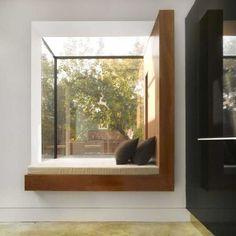 modern bay window seat...... must show ryan i reallllly realllly