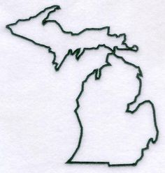 Michigan Outline -- fix up and do one of those cute heart things? Or too girly? Make decision when not sleep deprived.