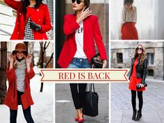 Red is back! #trends #autumn #shoppingpicks