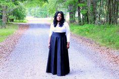piniful.com plus size long skirts 33 #plussizefashion