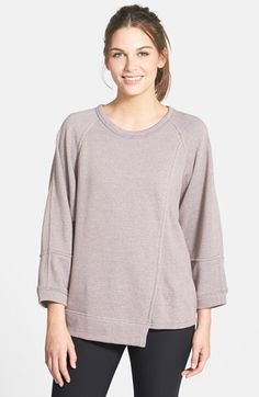 adidas by Stella McCartney Oversize Sweatshirt available at #Nordstrom