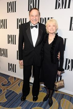 MAY 14, 2015 Composer Richard M. Sherman (L) and Elizabeth Sherman attend the 2015 BMI Film & Television Awards at the Beverly Wilshire Hotel on May 13, 2015 in Beverly Hills, California. (Photo by Frazer Harrison/Getty Images for BMI)